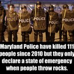 Dont get it twisted, the main emergency here is to stop systemic injustice and police brutality. #Baltimore http://t.co/oULUHxTmgA