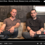 RT @tferriss: NEW! The Random Show – Booze, Biohacking, and Bloody Messes (on Camera) http://t.co/7dF11KXvky http://t.co/yAm7XhU5uM