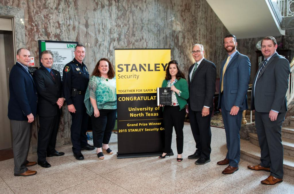 Congratulations University of North Texas on receiving a $200,000 security grant from STANLEY! @UNTPrez @UNTnews http://t.co/Qv52KO7bGr