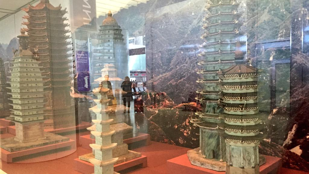 RT @tmccormick: if at @flySFO you should see astounding @SFOMuseum show of pagoda models seen at 1915 PPIE T3 http:…
