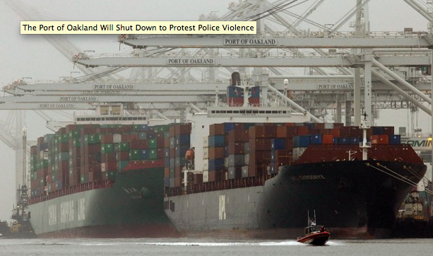 One of America's busiest ports will shutdown in protest of police violence http://t.co/V9aWLoia7C http://t.co/E2gZjAvHm1