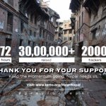 Thank you!!! Please keep the support going. Lots more people need help! #Nepal http://t.co/dsb10oKLDt