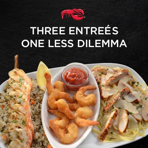 Come to #SeafoodTrios and enjoy 3 entrées on one plate for $15.99. http://t.co/DUnqWDWk9E