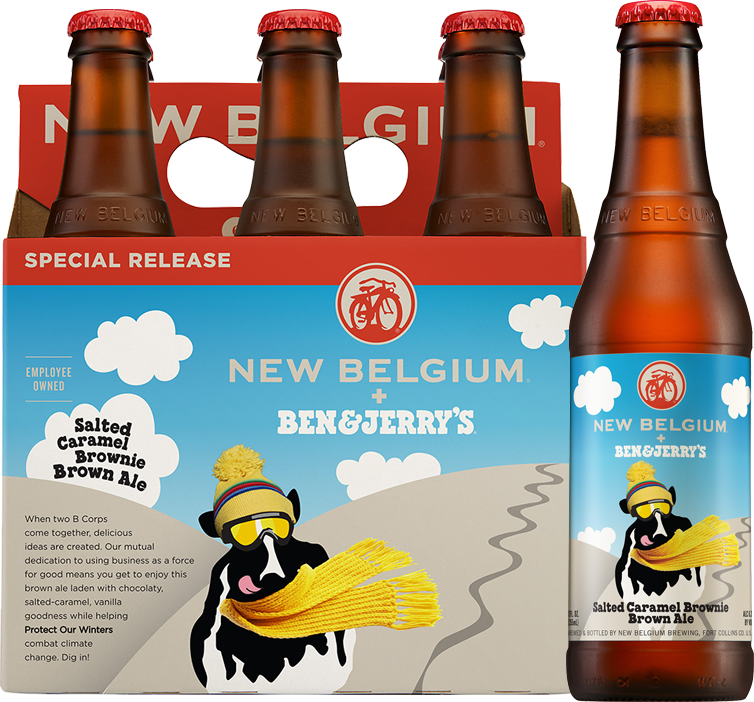 Well, it's about time: @newbelgium and @benandjerrys made a Salted Caramel Brownie beer. http://t.co/9NaRF395dJ http://t.co/cuUqiEjEMy