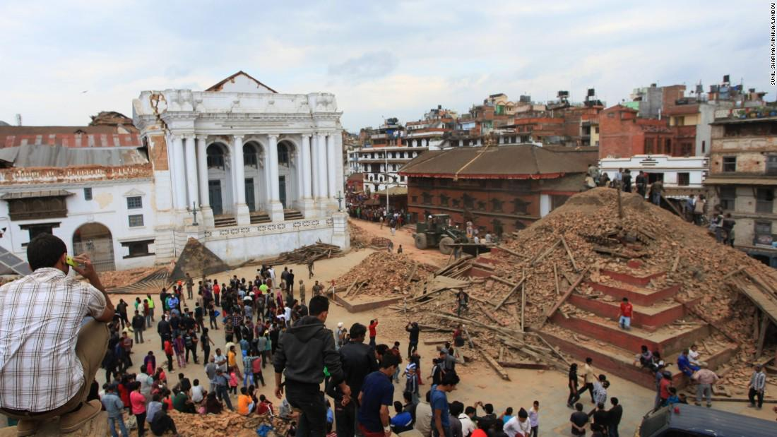 Look outside YOUR world, because #Nepal needs it. I'm donating to #RedCross for every RT up to $200 LET'S DO THIS! http://t.co/NnNUQ8a3be