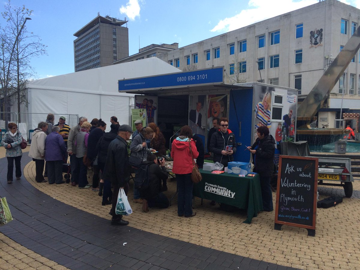 .@ourplymouth partners talking to local residents about #GrowShareCook & @Plymenergycom #Plymouth @CitiesServiceUK http://t.co/nDPEwT2cIe