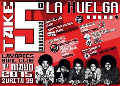 Puente de Mayo en Madrid?El bar La Huelga celebra aniversario pinchando cerveza vasca en #Lavapies! @laugarbrewery http://t.co/jP92rOtXMh