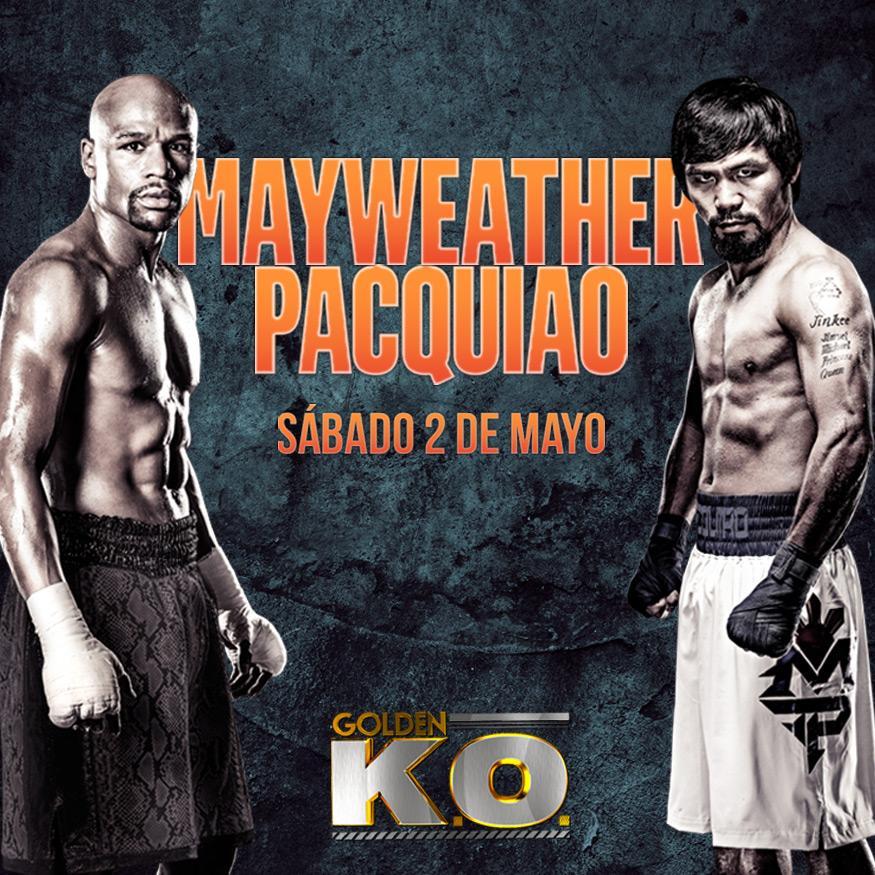 ¡Se acerca la pelea que todos esperaban de Mayweather y Pacquiao! Canales (580/308/HD1308) a las 9pm. #Clarotv http://t.co/hZZk5AXPBf