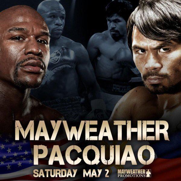 Skyrock  (@SkyrockOfficiel): Le combat du siècle approche @FloydMayweather vs @MannyPacquiao. Qui sera le grand vainqueur ? http://t.co/K8CefLzTB1 http://t.co/wWAn1SCtff