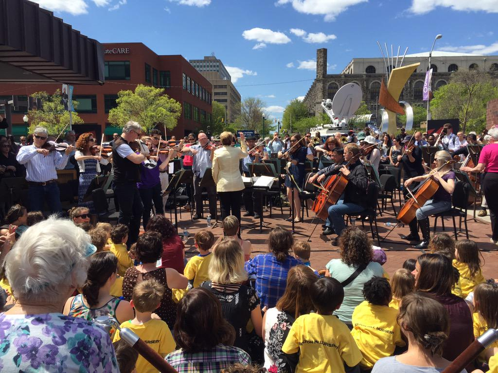@BaltSymphony plays for the City of #Baltimore! http://t.co/2SFBwmsdQf
