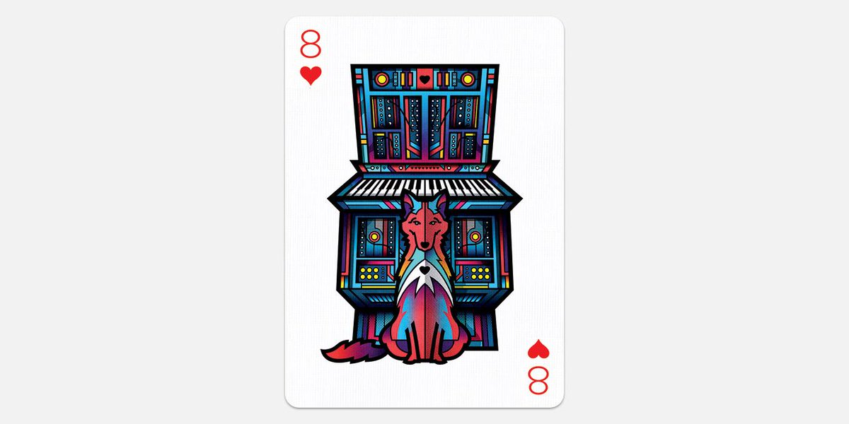 Eight of Hearts by Van Orton Design @vanortondesign   http://t.co/Ei2AnTCdDK  #playingarts2 #poker #cards #design http://t.co/qvWhVxGW9j