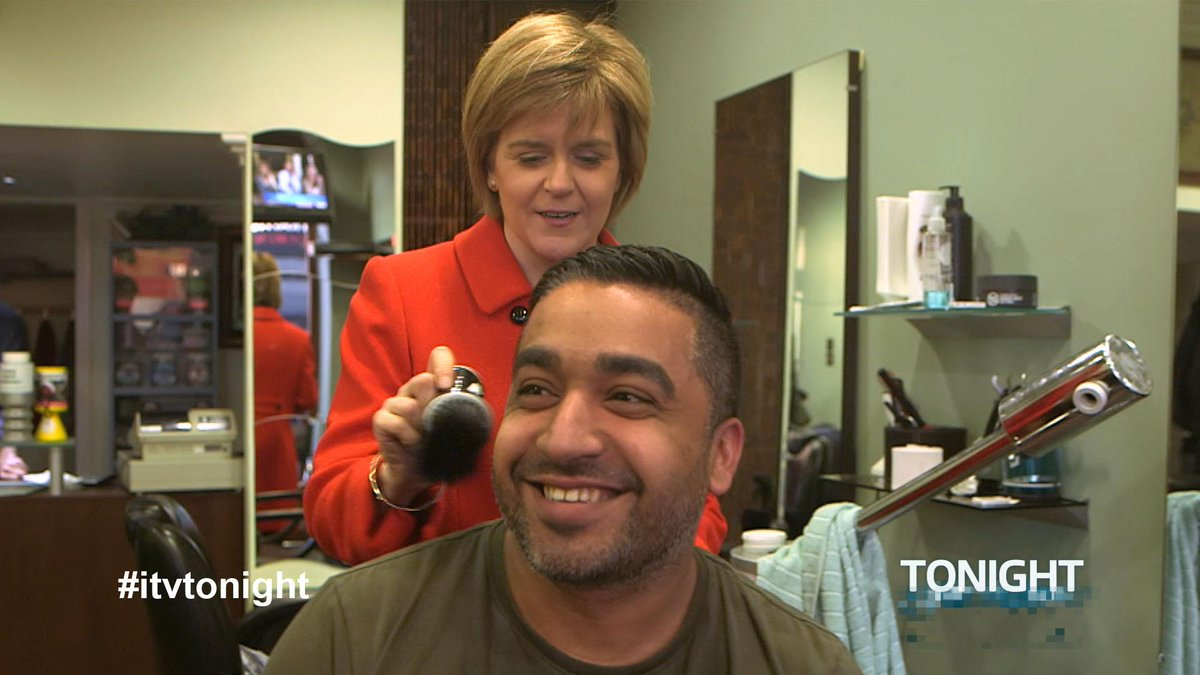 As the SNP storm ahead in the polls in Scotland, we're with @NicolaSturgeon tomorrow at 7:30, ITV #itvtonight #GE2015 http://t.co/ssmcYsCK6M