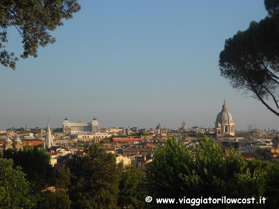 Vista su #Roma dalla Terrazza del Pincio :-) http://t.co/plM2KCrRJu