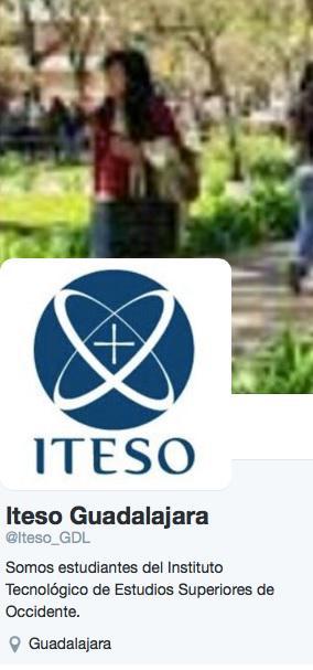 La única cuenta institucional del #ITESO es @ITESO. La cuenta @iteso_GDL es apócrifa y no compartimos su ideología. http://t.co/VHZ3JdWAq6