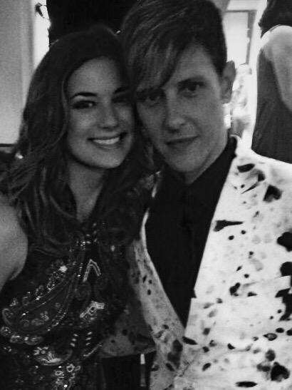 @Gabriel_Mann you are my hero on and off screen :) couldn't have done any of this without you! Mad love babe❤️#Nolem http://t.co/FbaavfQ0Co