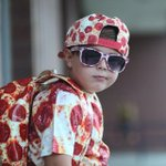Hosting @VogueMagazine's 1st Annual #KIDSMETBALL w/Anna Wintour. This years theme: PIZZA. Peep Brandon in @YSL: