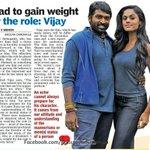RT @KollywudCinema: I had to gain weight for the role @VIJAYSETHUFANS - #PEP @KarthikaNair9 @Dhananjayang @Actorarya_FC