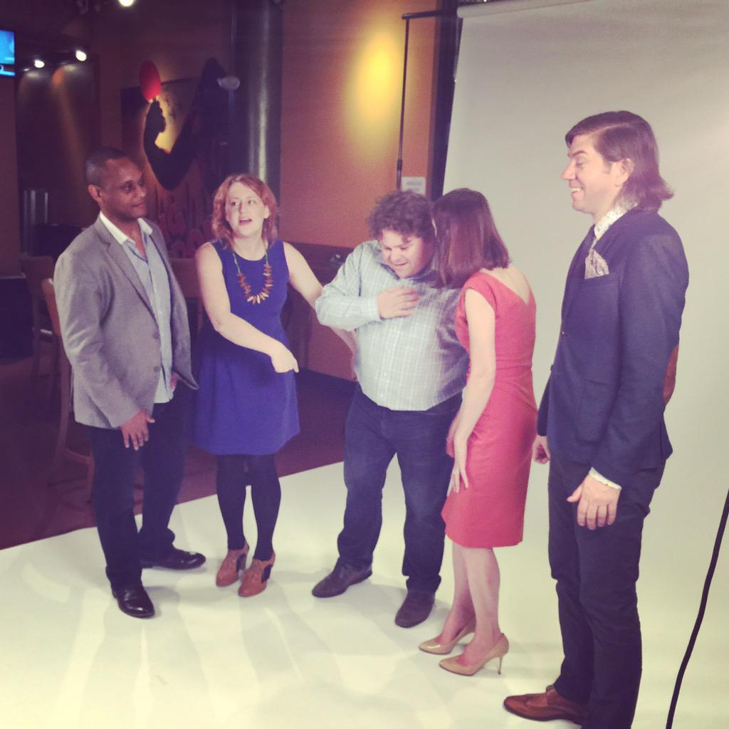 Behind the scenes at our @YEC Quarterly magazine photo shoot. http://t.co/2ptsUbutIG