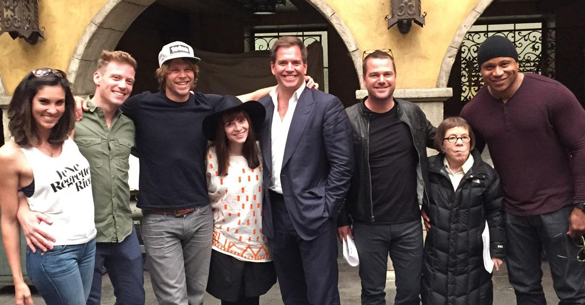 BREAKING: #NCIS' @M_Weatherly to guest star on #NCISLA. Can we get a NCI-YES!? http://t.co/1KVjMaF3cx http://t.co/V9u22beqFp