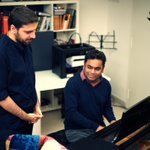 .@SamiYusuf ​ and I finally recorded a song together after knowing each other for 10 years... :-) http://t.co/ObSt8Ustug