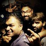 RT @SINGERNIVAS: Rec a telugu song..@MusicThaman @deepakmuziblue ..#RC9 http://t.co/wJ1yTbSldX