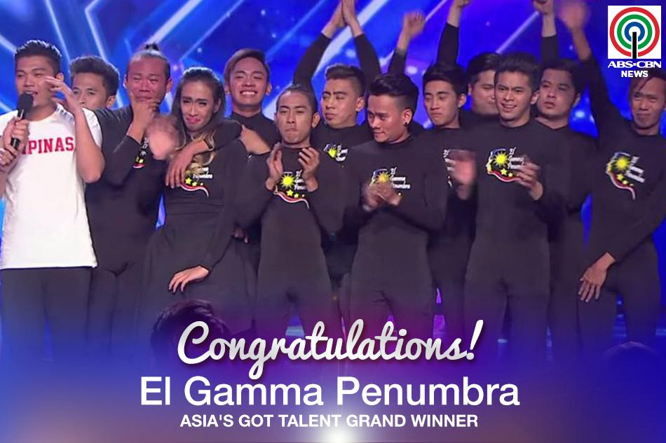 Congratulations to El Gamma Penumbra for winning the first ever #AsiasGotTalent! http://t.co/tn9p1ccma7