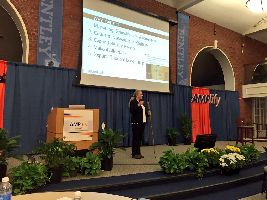 Share your influence. And borrow the influence of others. This is what advocacy is about. @loriruff #AMPlify15 http://t.co/7pBWwEFtgF