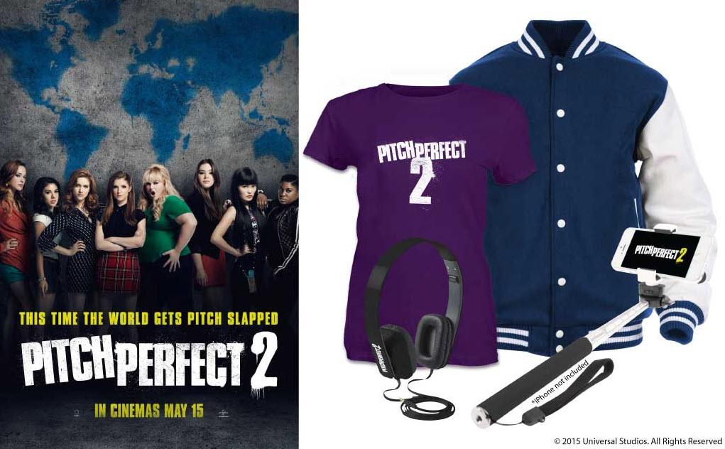 We're giving 4 lucky people the chance to WIN some aca-awesome #PitchPerfect2 merchandise! RT & follow to win! http://t.co/1IGwJjITQI