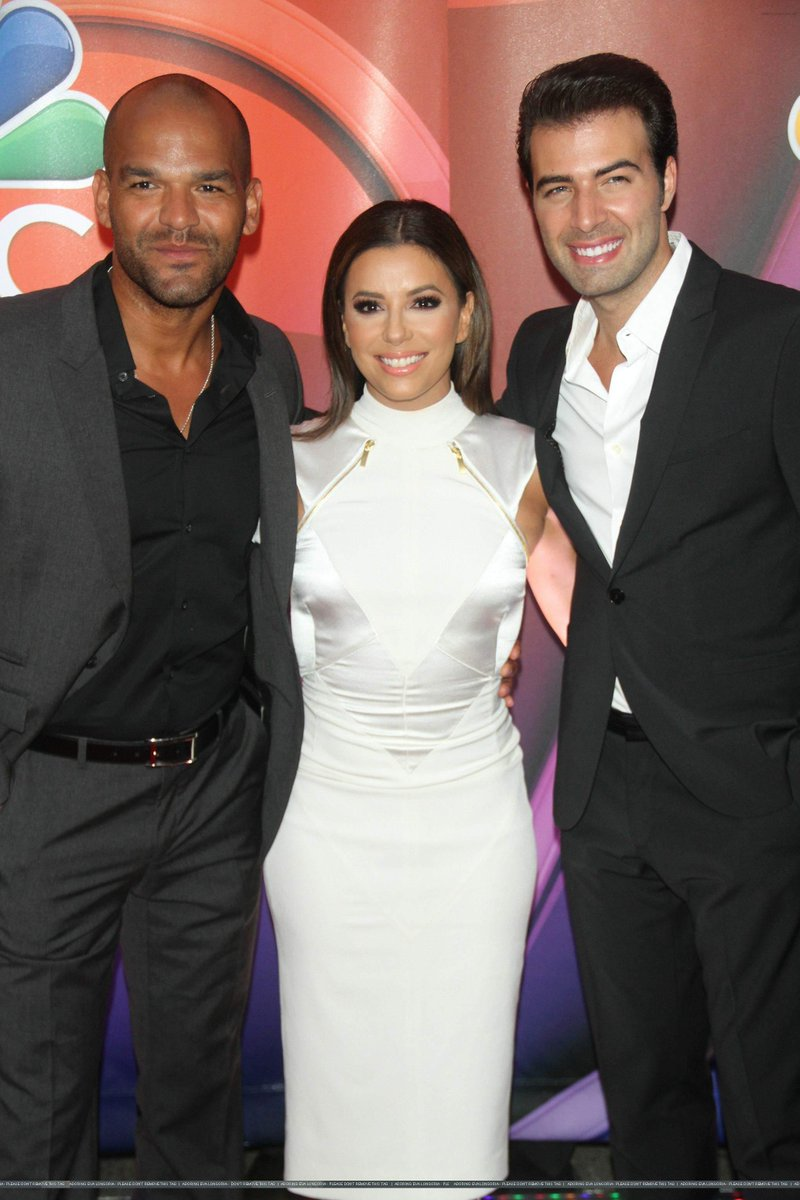 @EvaLongoria & @jencarlosmusic at 2015 NBC Upfront Presentation in NYC - (11th May 2015) - http://t.co/kI2XpjCloq http://t.co/KbLDvqGyYk