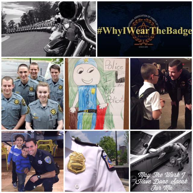 Follow #WhyIWearTheBadge to hear stories of diversity & commitment from law enforcement officers around the globe. http://t.co/G9SWXHK3D3