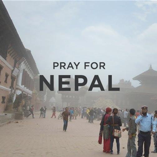 Continue to pray with us after a new earthquake rocks #Nepal. Support our relief efforts http://t.co/uMhllkSv8j http://t.co/YtR5OsBEuL