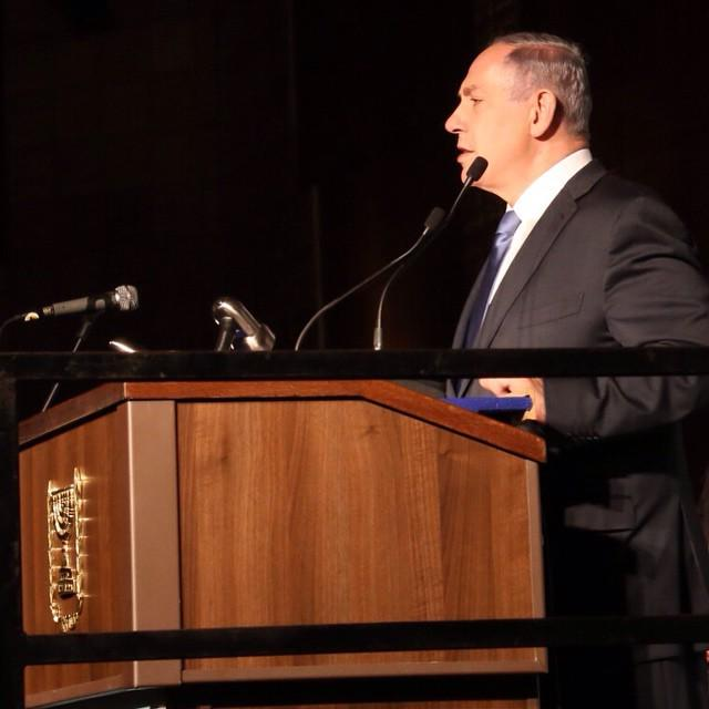 """A lie that is left unchallenged and repetitively repeated, assumes the cachet of truth."" Bibi at Antisemitism Forum http://t.co/OEuPfFdBqW"