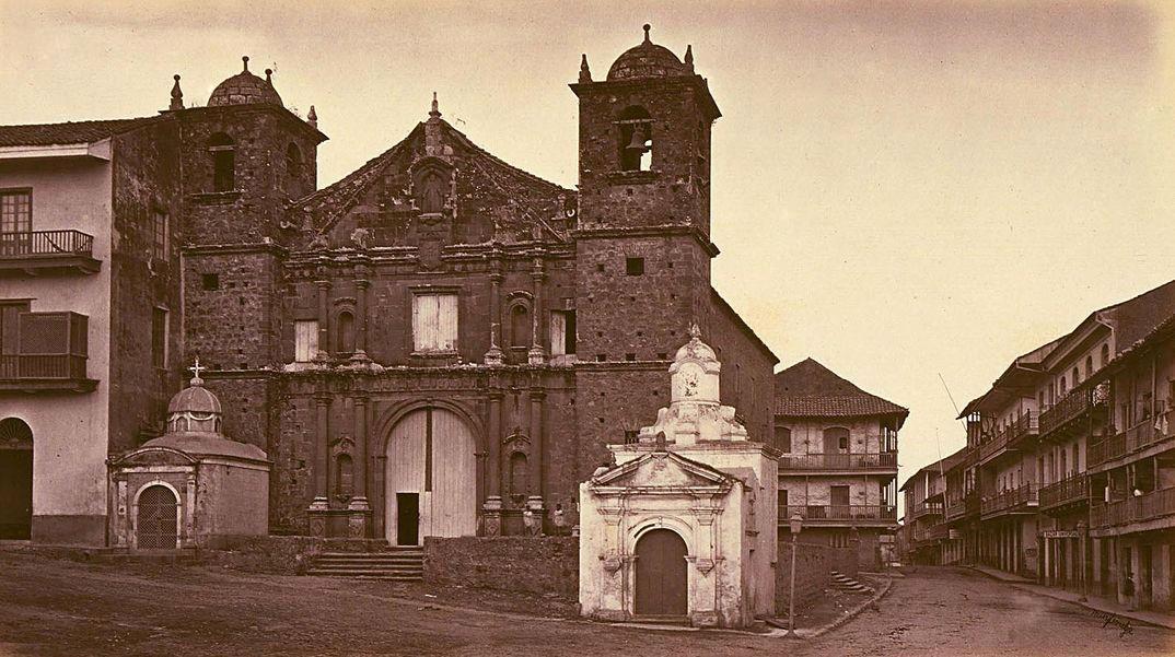 Iglesia la Merced, Casco Viejo, en 1875 http://t.co/eaSJvWXraA #Panama #CentroAmerica rt @PaViejaEscuela