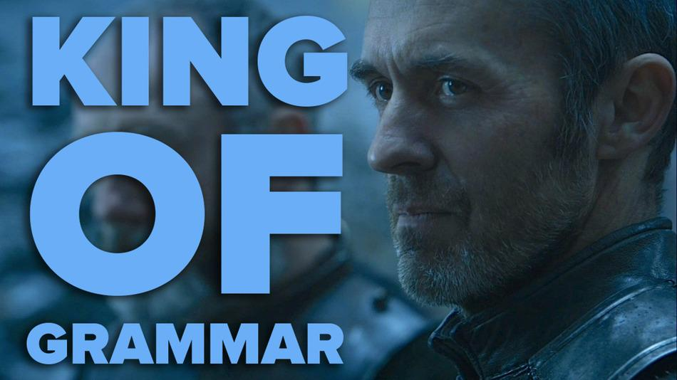 "King of #Westeros or no, Stannis Baratheon knows the difference between ""fewer"" & ""less than."" http://t.co/oNxEbtJAlv http://t.co/dA5GVLYySO"