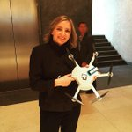 CyPhy CEO Helen Greiner showing off her new Level 1 Drone http://t.co/daaljM4Izt