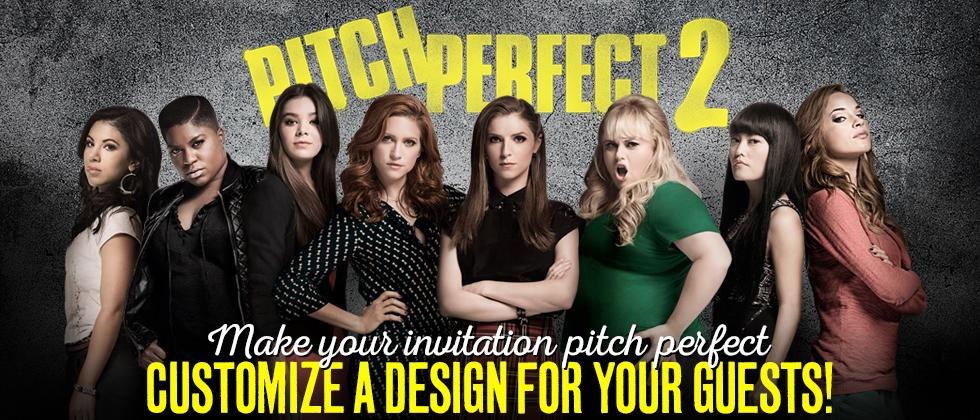 The Bellas are back! Catch @PitchPerfect 2, in theaters this Friday. Don't forget the invite: http://t.co/vWdNBn8DsQ http://t.co/e1J8C2MSTr