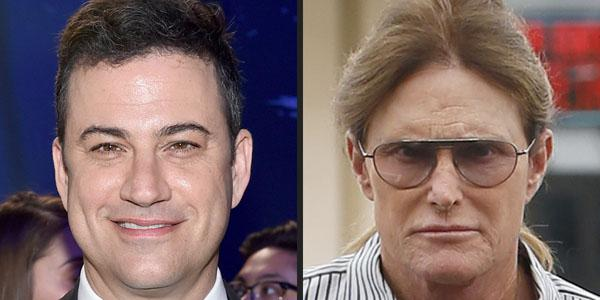 Jimmy Kimmel made a joke about Bruce Jenner's transition at the ABC Upfronts