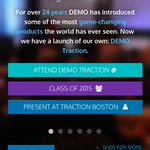Growth startups: Applications are now open to present @DEMO Traction in Boston, Sept. 16, 2015 http://t.co/YpzG6NyfOs http://t.co/mkLjs6PEis