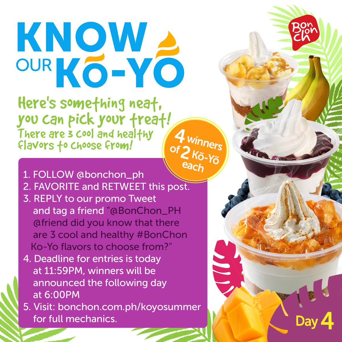 It's Day 4, here's something cool for everyone! Check out http://t.co/htpdgzrGx7 for full mechanics! #BonChon