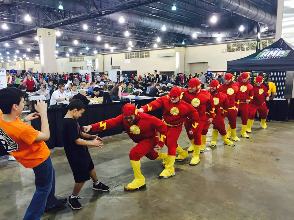 No flash photography please. | @WizardWorld #WizardWorld #Philly #ComicCon #TheFlash #Cosplay http://t.co/qHqnK6rdFV