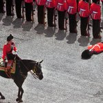 If the Queen of England would stop showing up so damn late for troop inspections, royal guards wouldn't pass out.