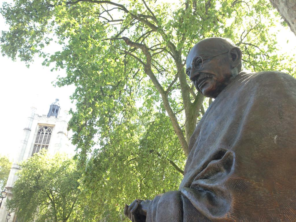 Would Gandhi or Mandela have passed the government's extremism test? My new blog: http://t.co/GOS4Oe0UZk http://t.co/lF9z1FFhcM