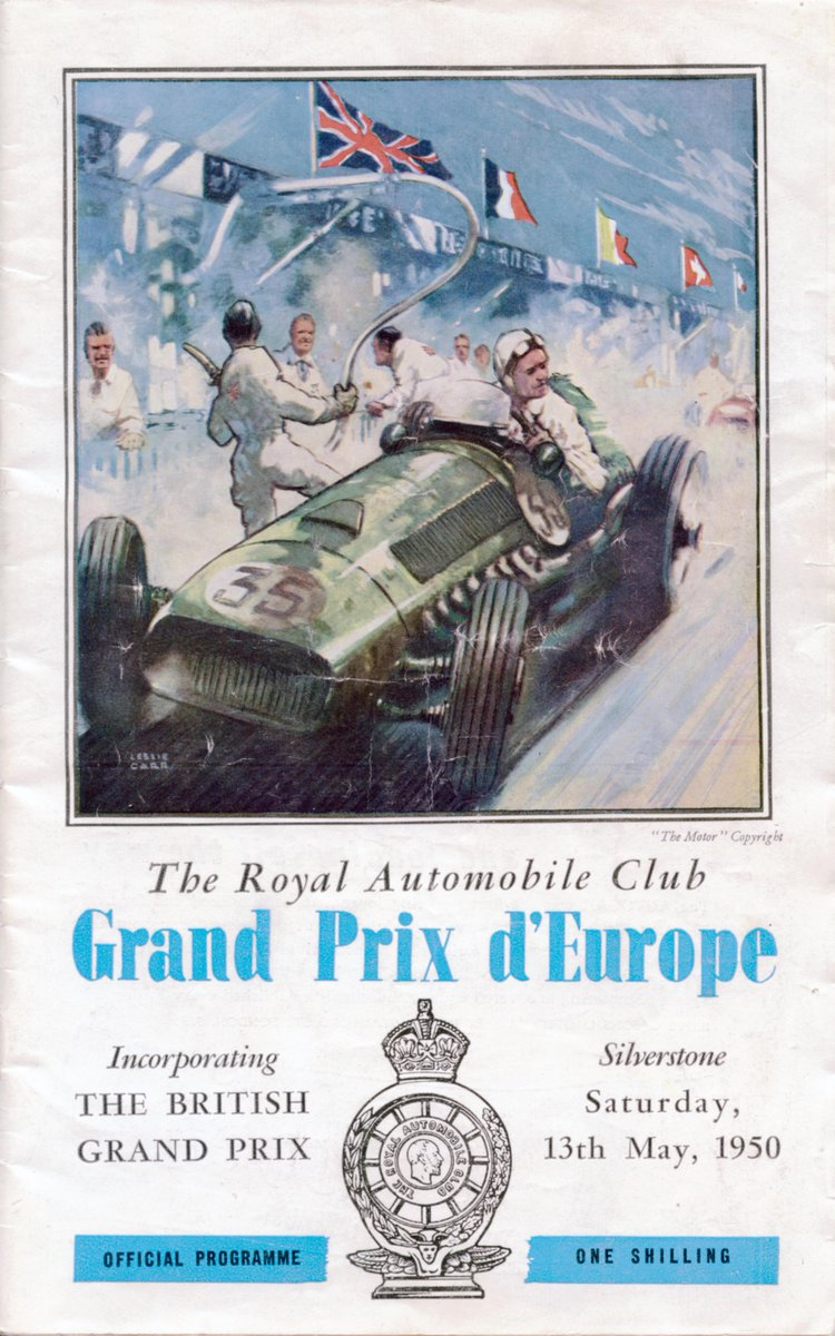 65 years ago today, our love affair with @F1 began with the first World Championship Race held here at Silverstone http://t.co/mAMcWobIN9