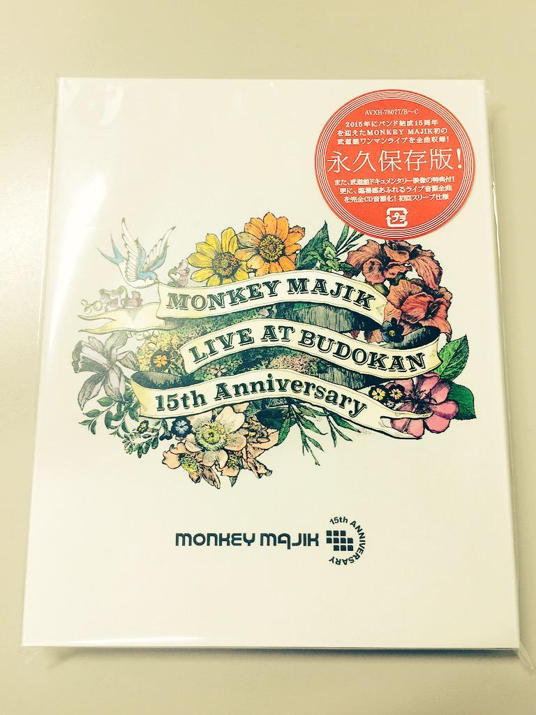 武道館LIVE Blu-ray&DVD本日発売です‼︎ http://t.co/6DpUBhy9DI