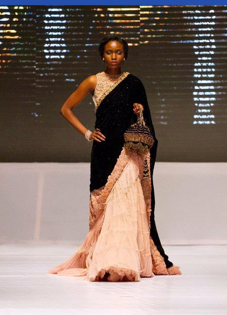 Designer Tarun Tahiliani Held A Fashion Show In Lagos Designs Merged Indian Nigerian