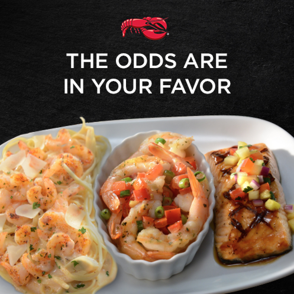 3 entrées on one plate for $15.99? It's not a gamble if you can't lose. #SeafoodTrios http://t.co/a5FyzEDSkb