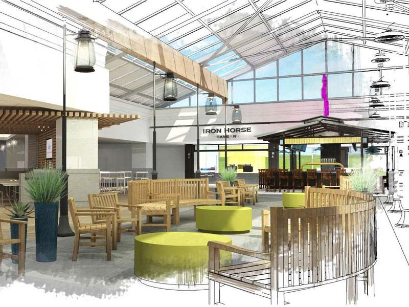 RT @CapRadioNews: Renovations For @SacIntlAirport's Terminal A Food Court Begins :