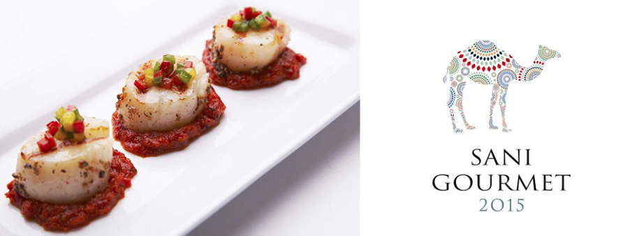 Our Gold M+B members can enjoy complimentary dinner prepared by top chefs during @sanigourmet
