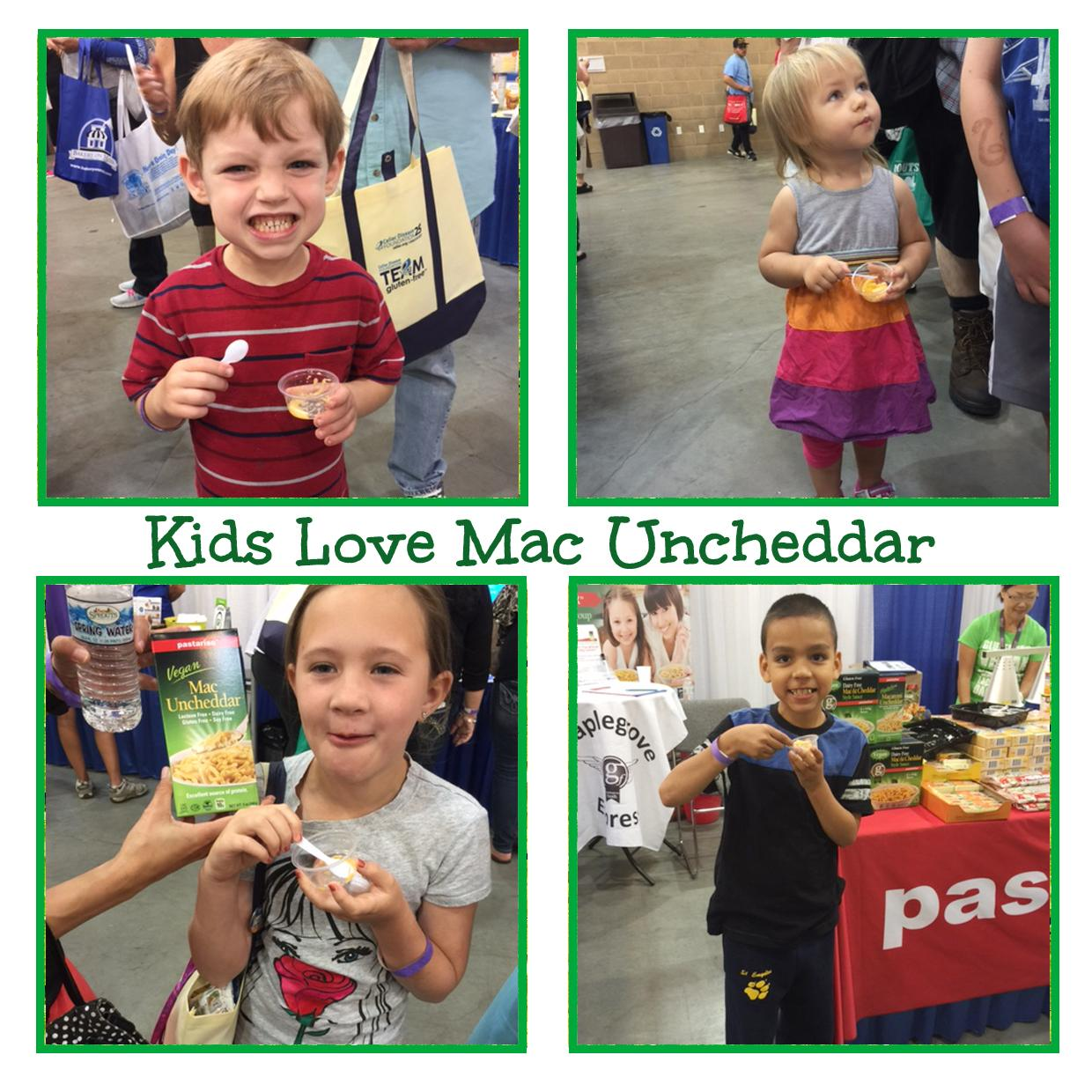 Kids love our #Vegan #DairyFree #MacUncheddar! http://t.co/MwP9WySN3Y