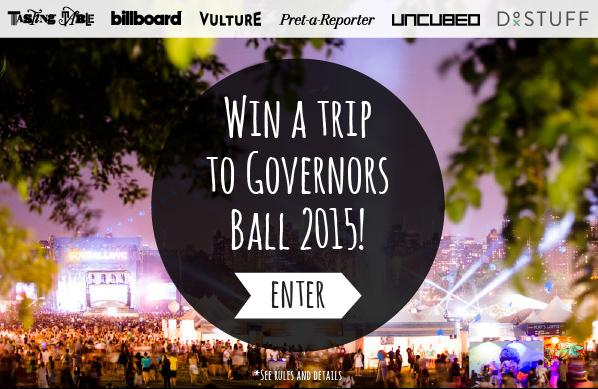 Ends soon! Enter to win an all-expense-paid trip to @GovBallNYC June 5-7: http://t.co/92JqFdmIBT http://t.co/HS04uDXHz4
